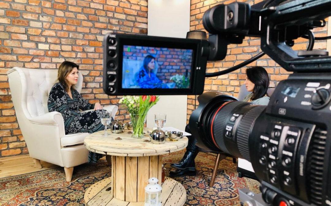 LIVE STORY pasjonaci – rozmowa z Anetą Figiel.